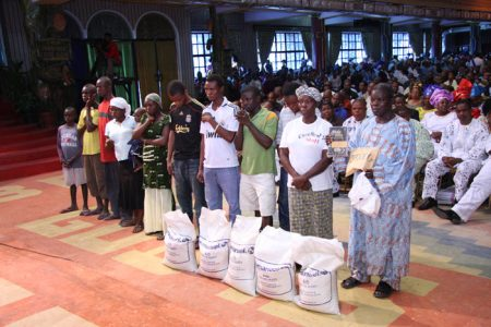 The Olatunji Family Helped By TB Joshua