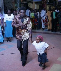 TB Joshua With Dwarf