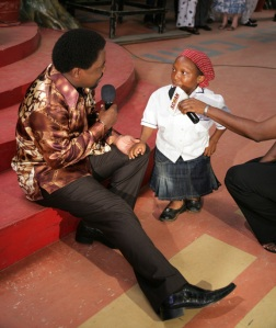 TB Joshua With Evelyn