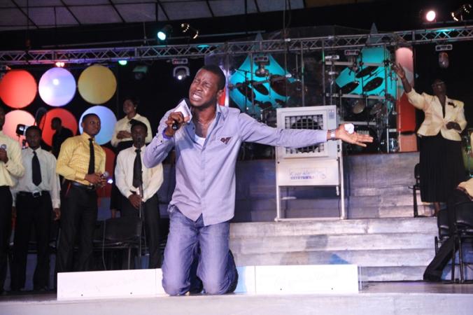Chijioke Singing in The SCOAN