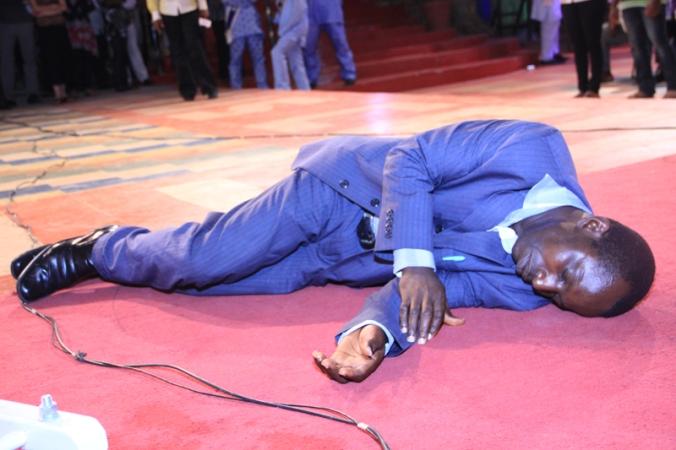 Pastor delivered