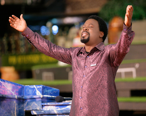 TB Joshua Stickers