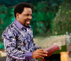 Prophet T.b. Joshua at The Synagogue Church of All Nations