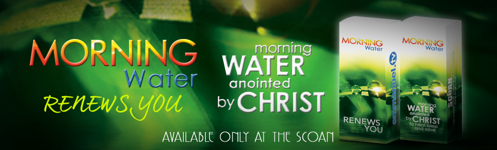 MORNING WATER: Resurrection Power! | Distance Is Not A Barrier