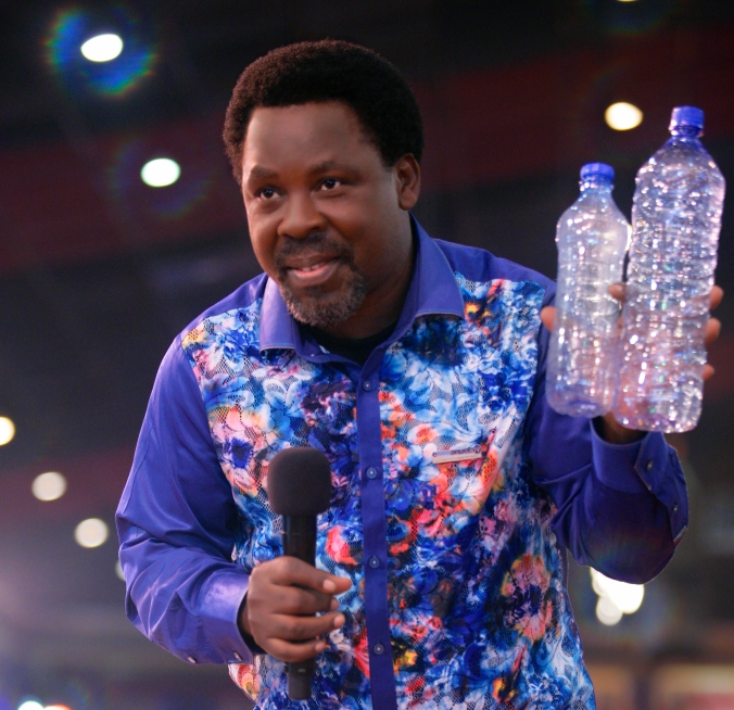 TB Joshua Water Therapy
